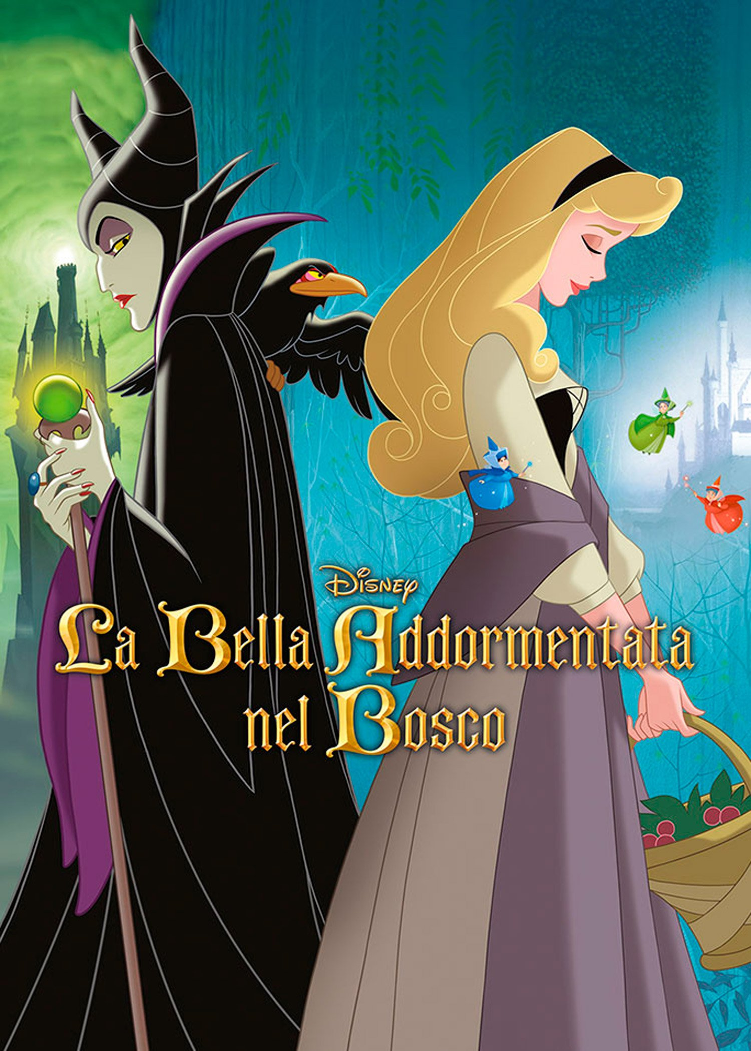 Dvd la bella addormentata nel bosco dvd e blu ray film for La cabina nel bosco 2 film completo