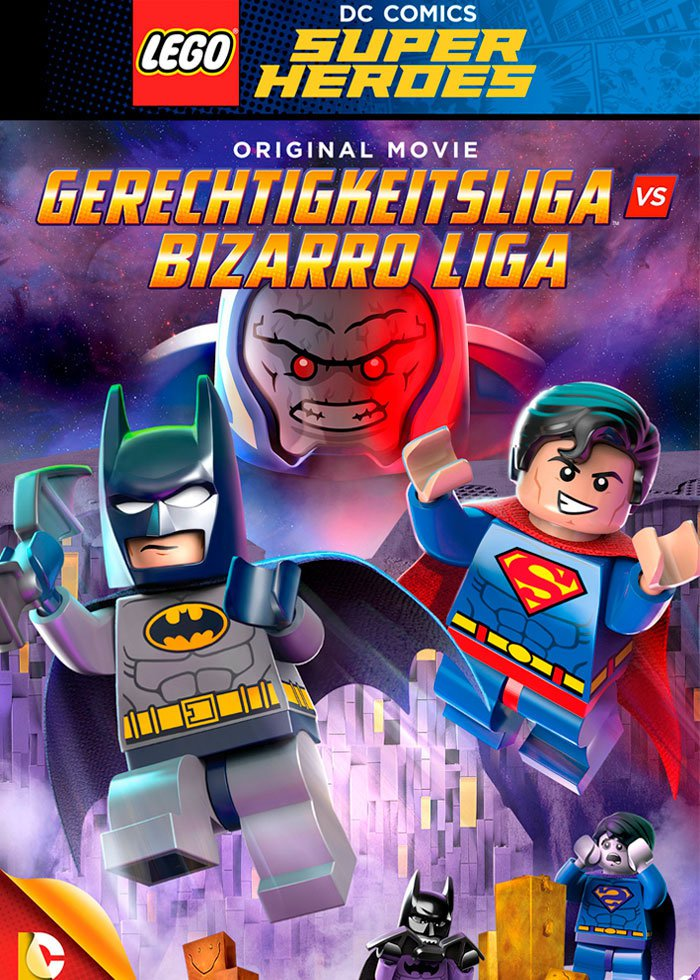 LEGO Justice League vs Bizarro League