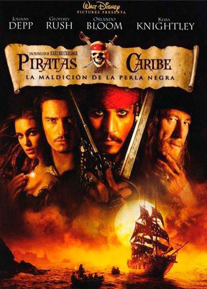Piratas del Caribe 1 - La maldición de la Perla Negra