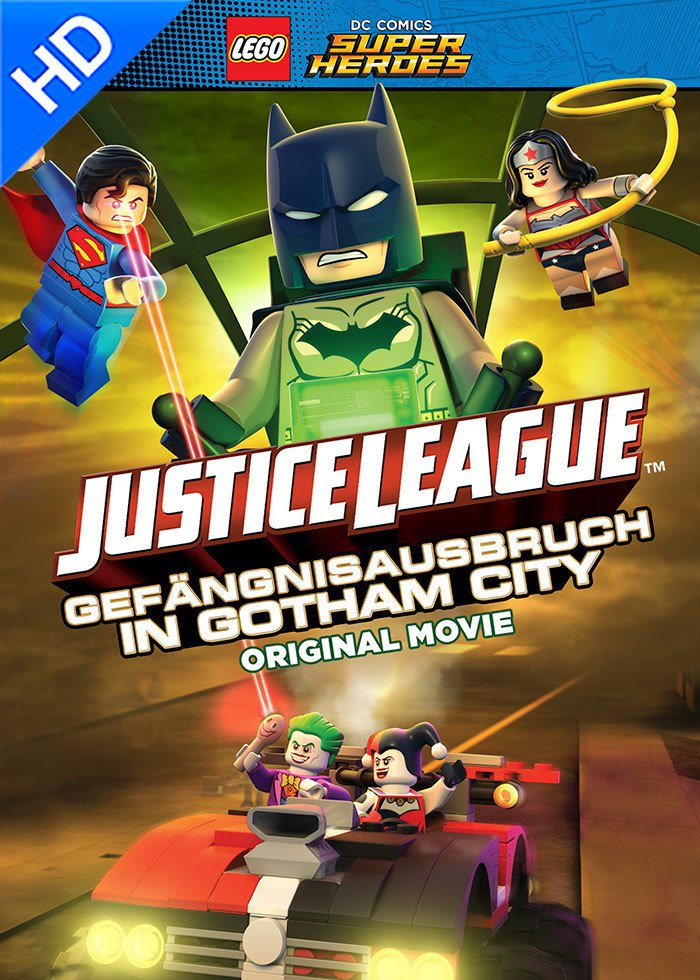 LEGO DC Comics Super Heroes: Justice League: Gefängnisausbruch in Gotham City